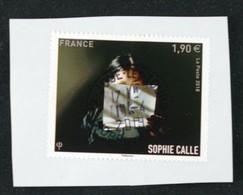France 2018 Sophie Calle Obltéré - Oblitérés