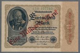 P113a Ro110b DEU-126b  1 Milliard Mark 15.12.1922 XF+ - [ 3] 1918-1933 : Repubblica  Di Weimar