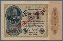 P113 Ro110b DEU-126b. 1 Milliard Mark 15.12.1922 XF+ - [ 3] 1918-1933 : Repubblica  Di Weimar