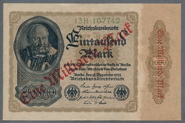 P113 Ro110b DEU-126b 1 Milliard Mark 15.12.1922 XF+ - 1918-1933: Weimarer Republik