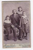 PHOTO Henri Pissot 16 Bd De Maupéou à Sens Famille Femme Homme Fillette Garçon VOIR ZOOM - Persone Anonimi