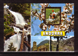 120e * ANDORRA * IN 4 ANSICHTEN *!! - Andorra