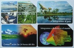BOLIVIA - Urmet - Group Of 4 - Used - Bolivië