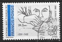 FRANCE 2684 Poètes Français Du 20éme Siècle, Francis Ponge . - France
