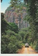 CP - LE GABON EN TROPICOLOR - PISTE PRES DE MEDOUNEU - A 696 K  - TROPICOLOR - Gabón