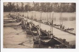 CARTE PHOTO MILITARIA (Pont Provisoire Achevé Et Passage Des Autorités) Juillet 1921 Lot De 3 Cartes - Militaria