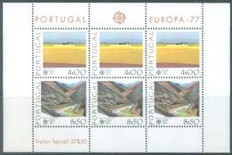PORTUGAL - 1977 - MNH/** - EUROPA   - BLOCK 20 Yv  BLOC 20  - Lot 19385 - Blocs-feuillets
