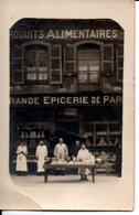 CARTE PHOTO - Grande EPICERIE DE PARIS - Montlucon