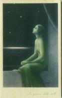 ZAMBO SIGNED 1920s ART DECO POSTCARD - WOMAN & STARS - SERIE 506 (BG223) - Illustrators & Photographers