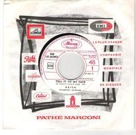45T SP KEITH Mercury Records PRO127.265 Tell It To My Face Tirage Limité Promo Et Juke Box - Rock