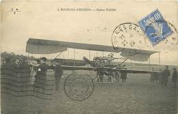 18 BOURGES - AVIATION BIPLAN VOISIN - Bourges