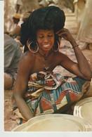 CP - PHOTO - RÉPUBLIQUE DU NIGER - JEUNE FEMME BORORO - 5873 - IRIS - Niger