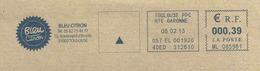 Ema Secap ML _ Organisation De Spectacles - Boulevard D'Arcole - Bonaparte - Enveloppe Entière - Marcophilie (Lettres)