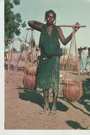 CP - PHOTO - RÉPUBLIQUE DU NIGER - PORTEUSE D'EAU - KAP - 74/406 - Niger