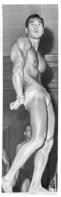 HOMME EN MAILLOT DE BAIN CULTURISME CULTURISTE  18X6CM - Reproducciones