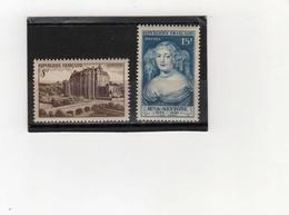 FRANCE    1950  Y.T. N° 873  874  NEUF** - France