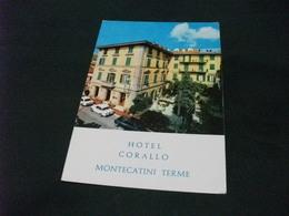 HOTEL CORALLO MONTECATINI TERME AUTO CAR GIULIA ALFA ROMEO VIA CAVALLOTTI MONTECATINI TERME - Alberghi & Ristoranti