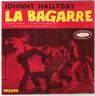 45T EP Original Johnny Hallyday 9ère Série Philips 432852 La Bagarre Statics Avec Les Golden Stars Live Olympia - Rock