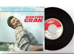 45T EP Jean Yves GRAN Ducretet Thomson 460V557 On N'peut Pas S'en Empécher Avec Languette - Rock
