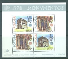 PORTUGAL - 1978 - MNH/** - EUROPA  - Mi BLOCK 23 Yv BLOC 23 - Lot 19386 - Blocs-feuillets