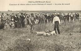 27 IVRY LA BATAILLE - CONCOURS DE CHIEN RATIERS CONTRE BLAIREAU ET RENARD - Autres Communes