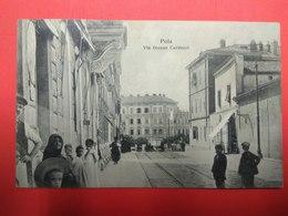 Pula, Pola, Istra, Istria, Via Giosue Carducci - Croatia