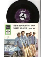 45T SP 2 Titres The Beach Boys The Little Girl I Once Knew Capitol K23123 Pression Allemagne - Rock