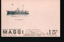 CPA744....MAGGI ...LE DUGESCLIN - Publicité