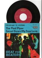 45T SP 2 Titres Crispian St Peters The Pied Piper  Decca DL 25235 Pression Allemagne - Rock