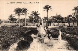 ALGERIE - SCENES ET TYPES - PAYSAGE ET TYPES DU M'ZAB - Scènes & Types