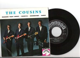 45T EP 4 Titres The Cousins Marche Tout Droit + 3  Palette Records PAL 45 21003 - 45 Rpm - Maxi-Single
