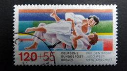Deutschland Berlin 778 Oo/used, Sport 1987, Judo-Kampfszene - [5] Berlin