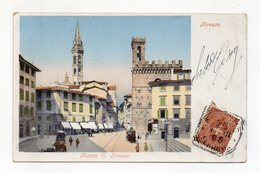 Firenze - Piazza S. Firenze - Viaggiata - (FDC15028) - Firenze