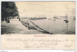 KJOBENHAVN - COPENAGHEN:  LANGELINIE  -  TO  AUSTRIA  -  FP - Danimarca