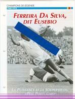 19/4 Fiche Football 25 X 18,5 Cm 2 Scans EUSEBIO PORTUGAL Beckenbauer Coupe Du Monde 1966 - Fussball