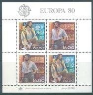 PORTUGAL - 1980 - MNH/*** LUXE - EUROPA   - Mi BLOCK 29 Yv BLOC 30 - Lot 19388 - Blocs-feuillets