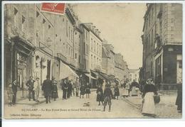 Guingamp-La Rue Notre-Dame Et Grand Hôtel De L'Ouest - Guingamp