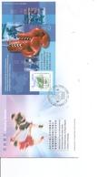 Hong-Kong ( FDC De 2001 Avec BF à Voir) - 1997-... Région Administrative Chinoise