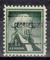 USA Precancel Vorausentwertung Preo, Locals Illinois, Georgtown 704 - Vereinigte Staaten