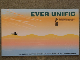 EVER UNIFIC EVERGREEN - JAPANESE LAUNCH CARD - Cargos