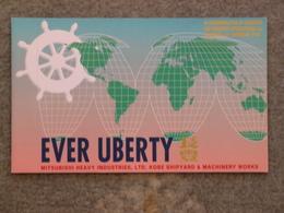 EVER LIBERTY EVERGREEN - JAPANESE LAUNCH CARD - Cargos