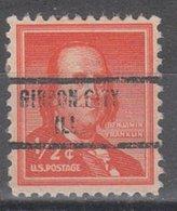 USA Precancel Vorausentwertung Preo, Locals Illinois, Gibson City 734 - Vereinigte Staaten