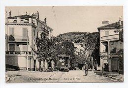 - CPA LE CANNET (06) - Entrée De La Ville (avec Tramway) - Photo Neurdein 335 - - Le Cannet