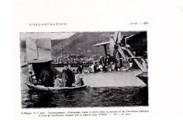 1928 BERGEN Embarquement D'Amundsen Et De Dietrichson En Hydravion Français Repartant Pour TROMSÖ TBE - Alte Papiere