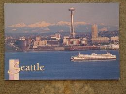 WASHINGTON STATE FERRY KALEETON AT SEATTLE - Ferries