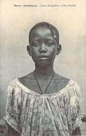 MAROC Jeune Fille Sénégalaise De La Tribu Ouolof Près De Casablanca - Casablanca