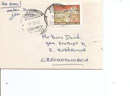 Liban ( Lettre Par Avion De 1968 De Beyrouth Vers La Tchécoslovaquie à Voir) - Lebanon