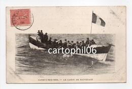 - CPA CAYEUX-SUR-MER (80) - Le Canot De Sauvetage 1906 (belle Animation) - - Cayeux Sur Mer