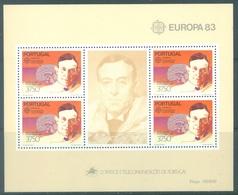 PORTUGAL - 1983 - MNH/***  - EUROPA - Mi BLOCK 40  Yv BLOC 41 - Lot 19390 - Blocs-feuillets