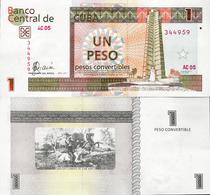 Cuba 2007 - 1 Peso Convertibles - Pick FX46 UNC - Cuba